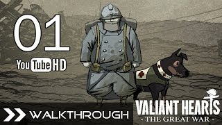 Valiant Hearts: The Great War Gameplay Walkthrough - Part 1 (Chapter 1: Dark Clouds) No Commentary