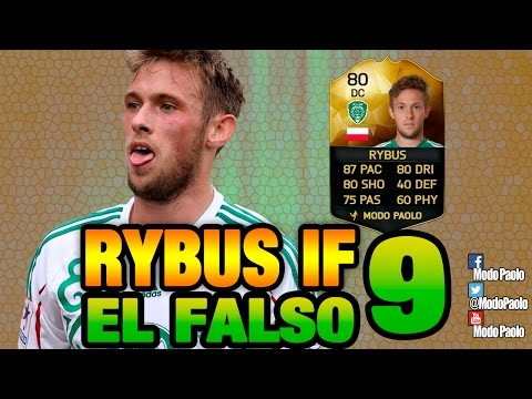Directo EL FALSO 9 RYBUS IF   FIFA 16   Modo Paolo