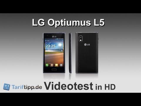 LG Optimus L5 | Test in HD (deutsch)
