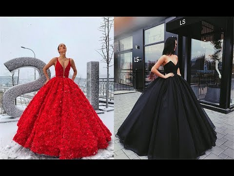 The most Beautiful Gowns in the world 2018!!! Fashion By Girls. http://bit.ly/2GPkyb3