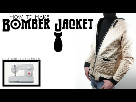 How to Make Bomber Jacket