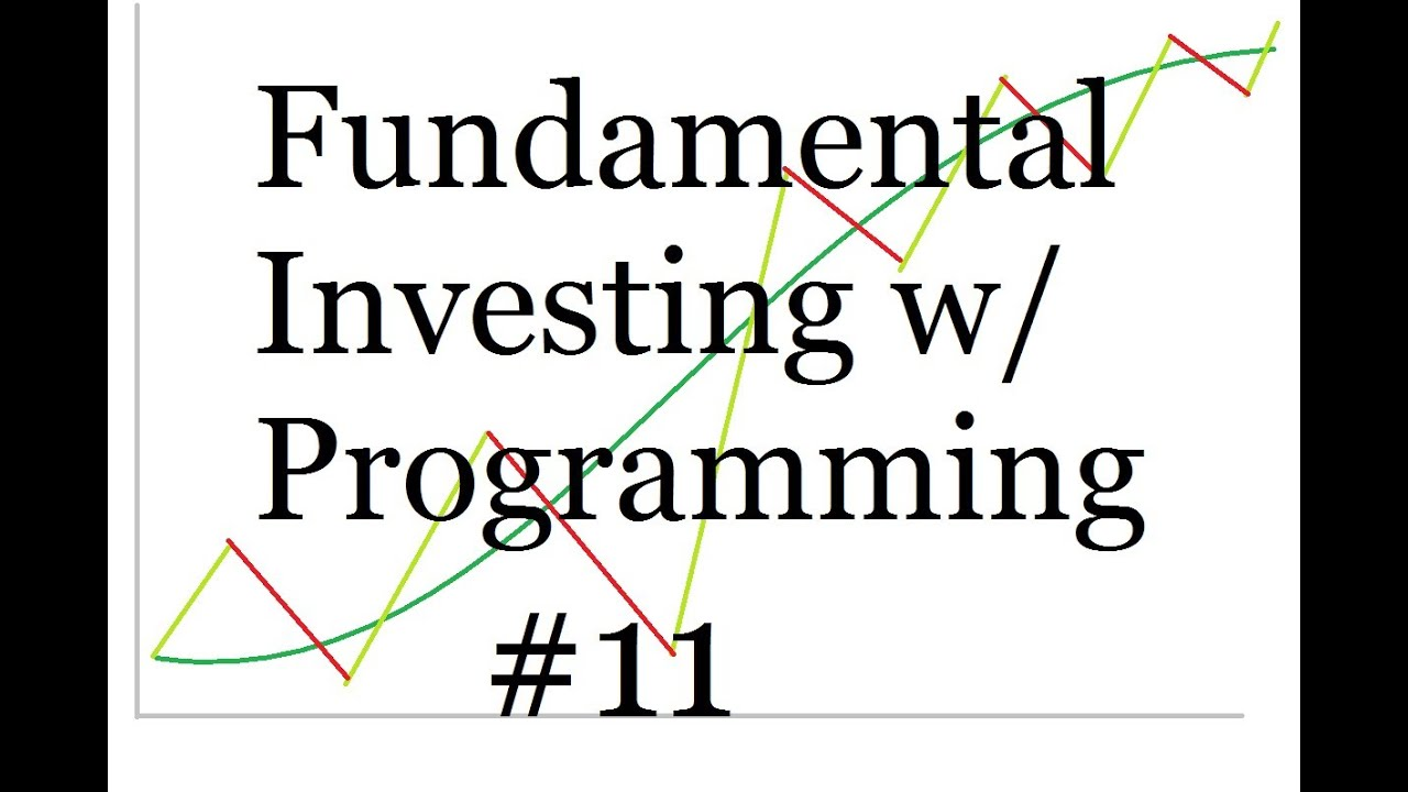 Connecting with Quandl for Annual earnings data - Programming and Fundamental Investing Part 11