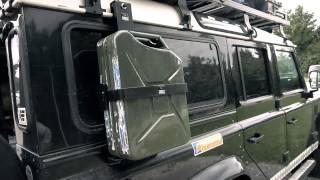 Landrover Defender SURVIVAL-Mobil zum unteren Mittelklasse-Preis