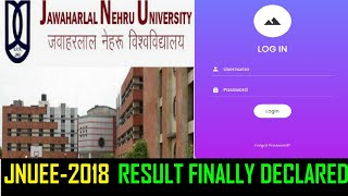 JNUEE 2018 - RESULT DECLARED finally today | JNU | Entrance Exam | 2018 | INTERVIEW may delay |