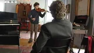 Master class de violino conduzida por Pedro Meireles - Vídeos Notícias - SIC Online.flv