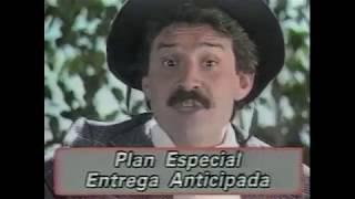 TANDAS PUBLICITARIAS DE TELEDOS (La Plata) y CANAL 13 (Bs.As.) (1988)
