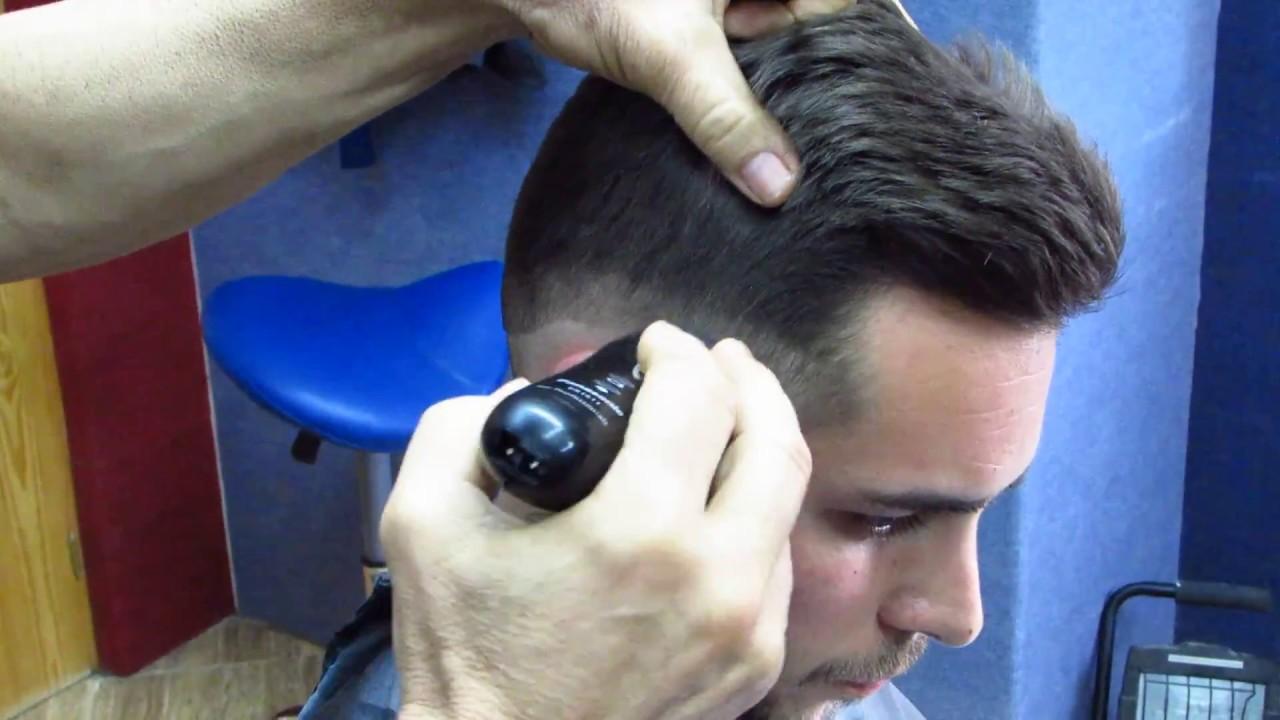 Nombre del corte de pelo de lado