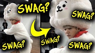 When SUGA forgot his SWAG!