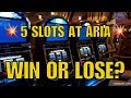 💥5 Slot Machines in 15 Minutes at ARIA💥WIN or LOSE?💥