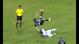 Best Football Horror Fouls And Tackles