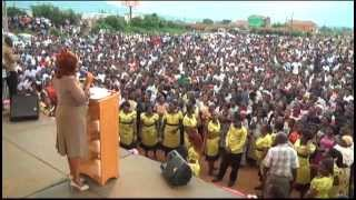 PASTOR NAMUTEBI AT MBALE CRUSADE Part one