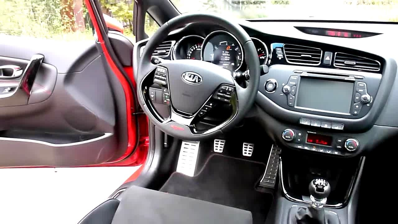 2013 Kia Pro Ceed GT Track Interieur in Detail - YouTube