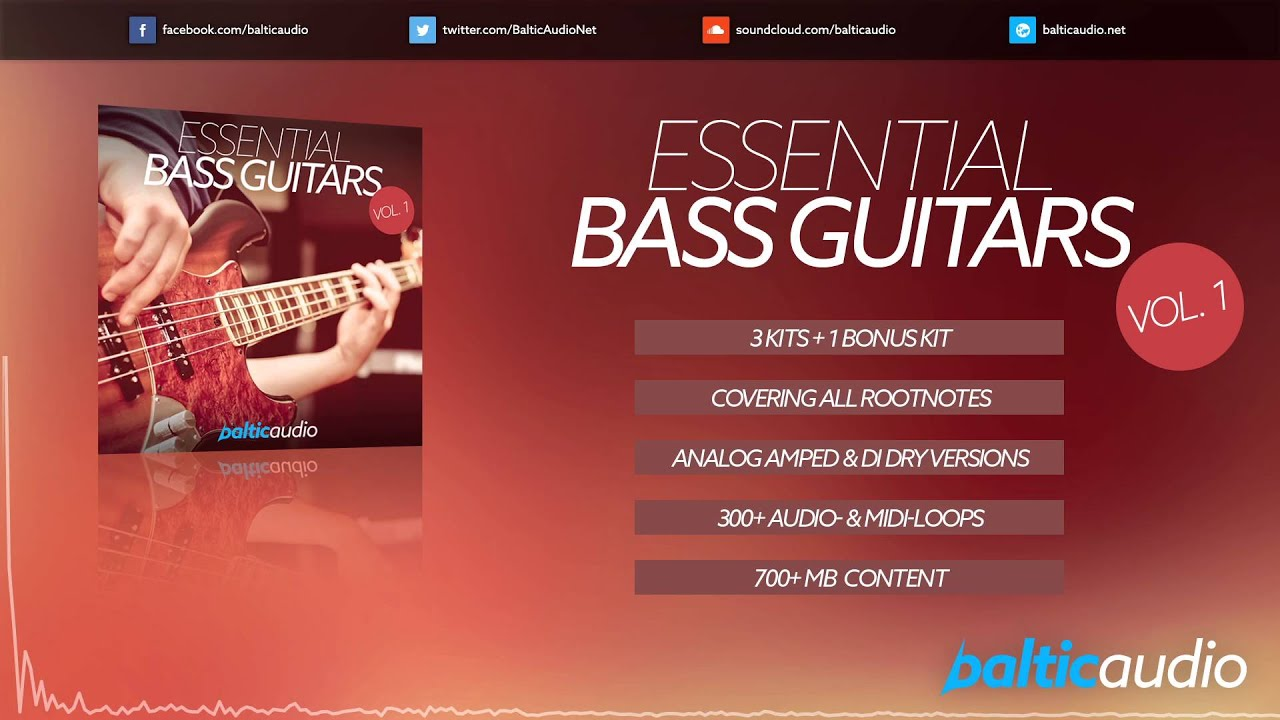 Essential Bass Guitars Vol 1