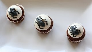 Carrot Cake Cupcakes(with spiders)