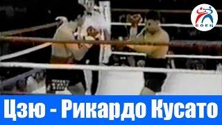 Костя Цзю против Даниэля Рикардо Кусато. Бокс. Бой №5.