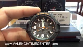 how to set Casio GW4000-1A G Shock Module 5087 by Valencia Time Center