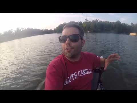 Lake Wylie - Allison Creek - York, SC - Kayak Fishing For Bass - 5/30/19
