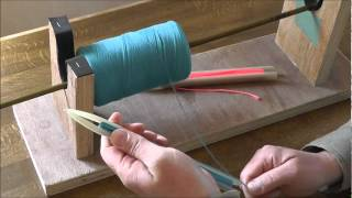 Netmaking 1-Loading the netting Needle