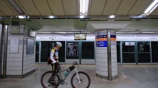 【韓国】 ソウル地下鉄5号線 鍾路3街駅 서울 지하철 5호선 종로3가역 Seoul Metro Line 5 Jongno 3-ga Station (2017.7)