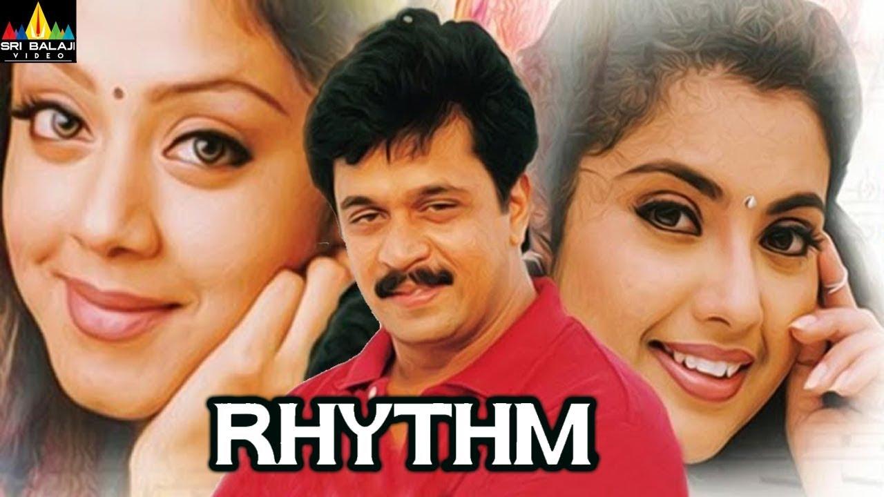 Download Rhythm Telugu Full Movie   Arjun, Jyothika, Meena   Sri Balaji Video