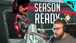 SEASON 1 READY in Apex Legends (DrDisrespect Squad VS StoneMountain64 Squad)