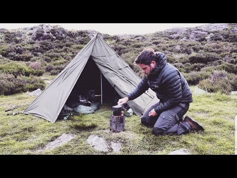 solo-overnight-wilderness-camp---man-&-dog-alone-in-the-mountains