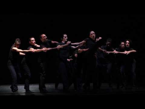 Words and space - choreography by Jiri POkorny