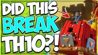 These TH10 Attack Strategies Are Insane! Miners-Hogs-Pekkas Broke TH10 in Clash of Clans