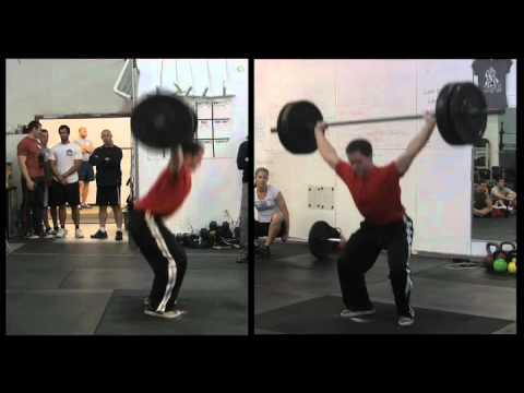 CrossFit - Coach Burgener Corrects James Hobart