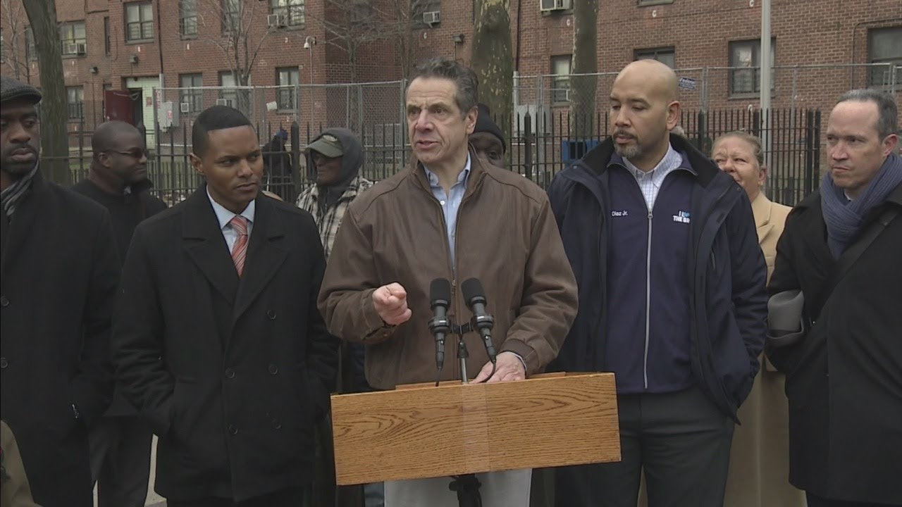 Gov. Cuomo Speaks After Tour Of NYCHA Houses In Bronx
