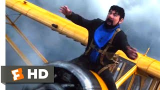 The Adventures of Tintin (2011) - Burp-Powered Plane Scene (3/10) | Movieclips