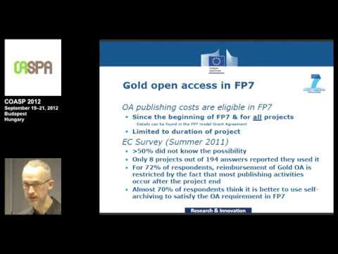 """Open Access in Horizon 2020 and the European Research Area"""