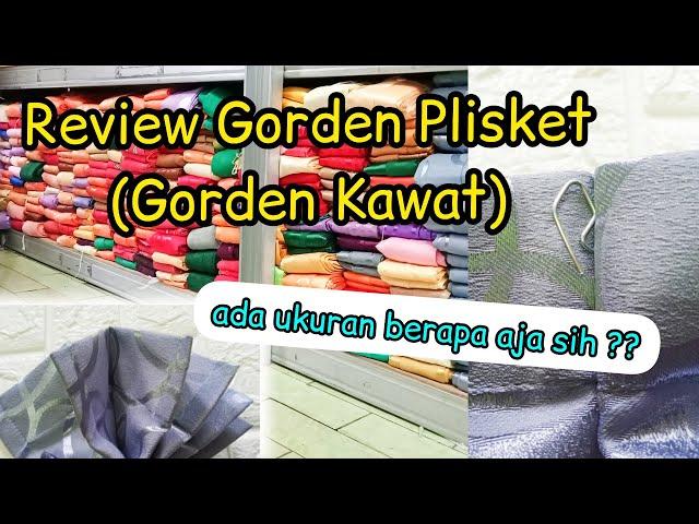 STOCK GORDEN MODEL KAWAT (PLISKET) |  Cocok untuk pintu dan jendela, banyak pilihan motif & warna