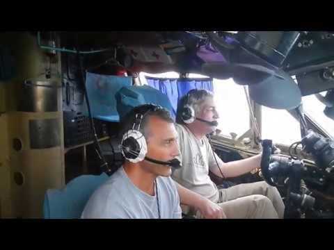 АН-12 посадка Мальдивы