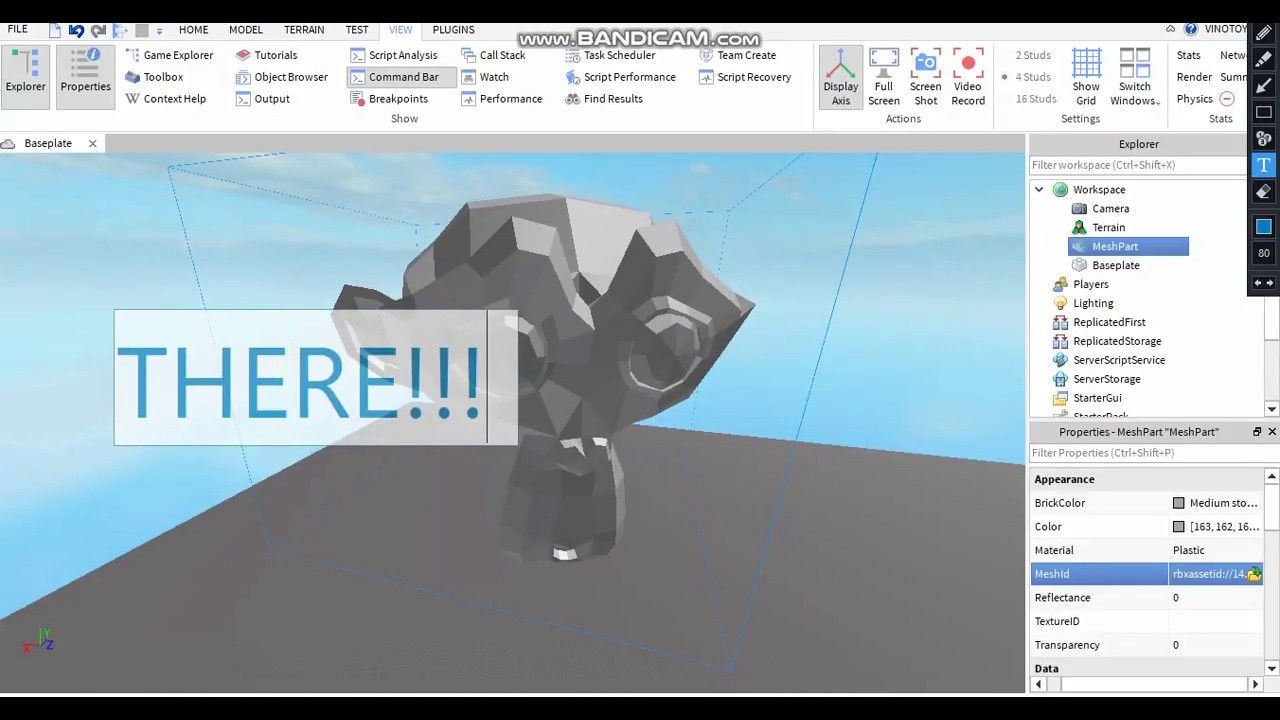 how to import mesh frome blender to roblox studio YouTube