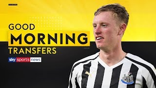 Is Sean Longstaff ready to play for Man United? | Good Morning Transfers