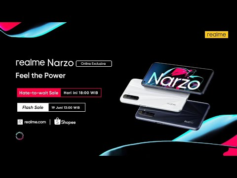realme-narzo-|-narzo-power-|-flash-sale-19-juni,-jam-13:00-wib