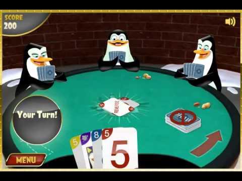 играть i пингвины мадагаскара карты