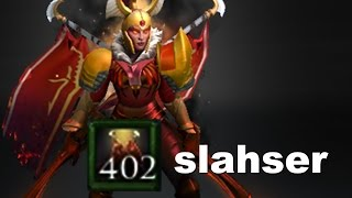 slahser +402 Dual Damage Ranked Dota 2