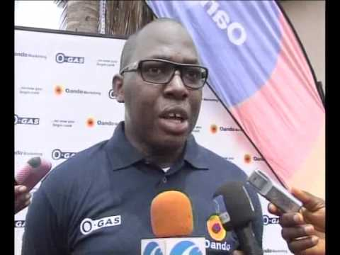 Oando O-Gas: Oba of Lagos Endores 3KG Cooking gas for low income earners