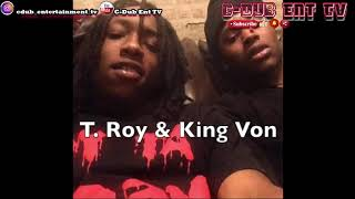 """King Von """"A Chicago Drill Rapper"""" Had A Strange Relationship With His """"Opp"""" Gakirah K.I Barnes"""