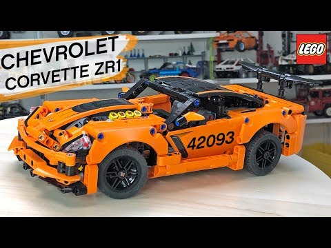 Подробный обзор LEGO Technic Chevrolet Corvette 42093. Б-Модель. Хорошее начало)