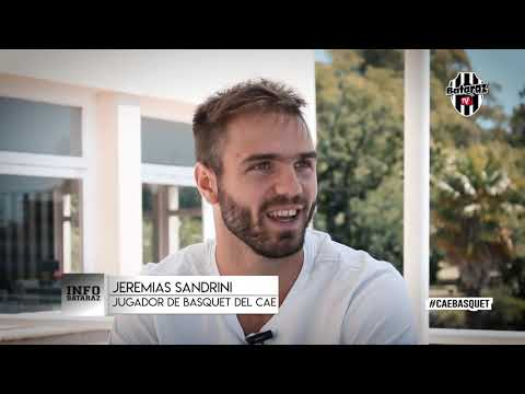 INFO.BATARAZ: Entrevista a Jeremías Sandrini