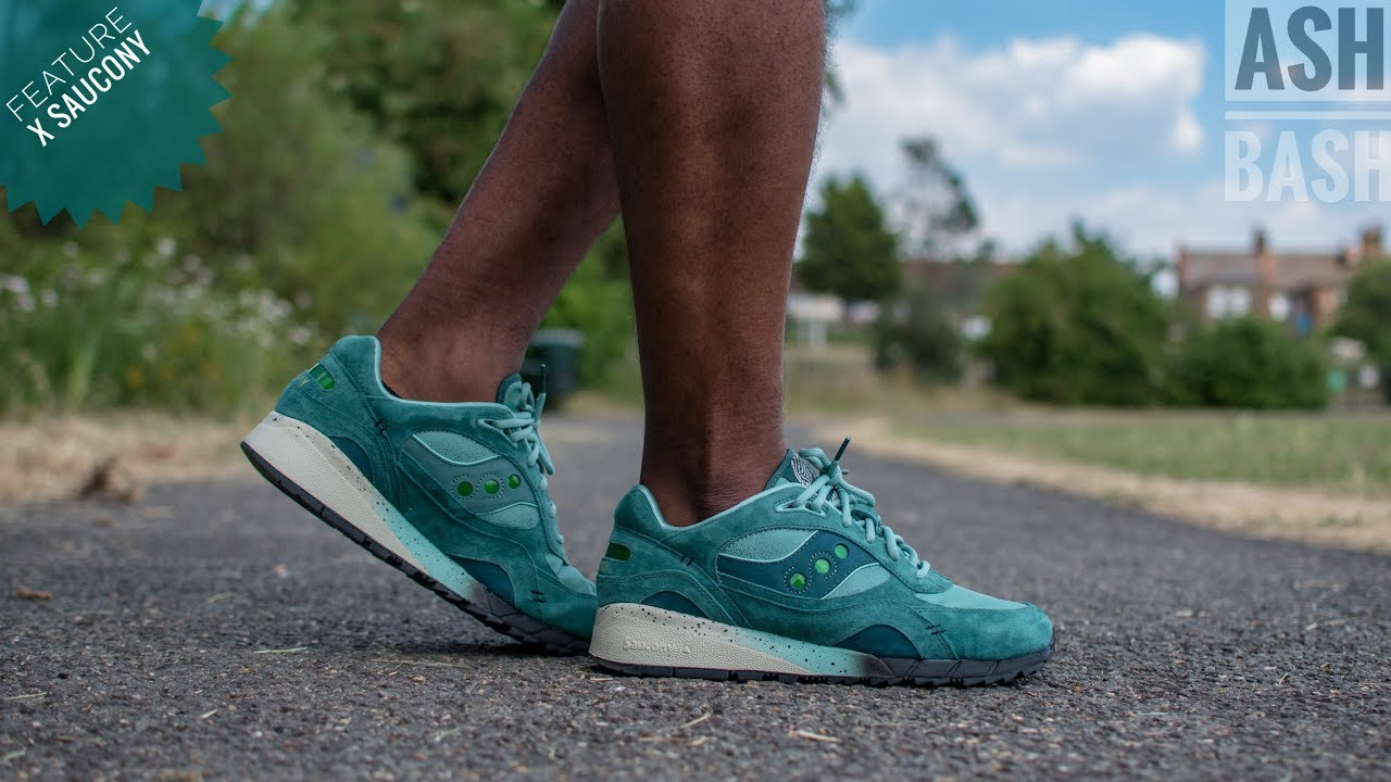 huge selection of 57bd8 60c11 Review + On Foot | Feature x Saucony Shadow 6000 'Living Fossil' | Ash Bash