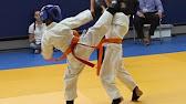 каратэ дети до 20 кг категория 6-7 лет соревнование(мой бой) - YouTube