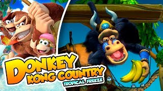 mandril no jutsu     13   donkey kong country tropical freeze  switch  dsimphony