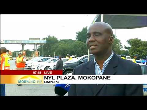 Minister of Transport, Joe Maswanganyi on Easter weekend traffic