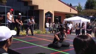 break dancing event at rtc