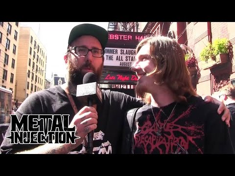 Vincent of THE ACACIA STRAIN Interviews SUMMER SLAUGHTER and ALL STARS Tour Bands | Metal Injection