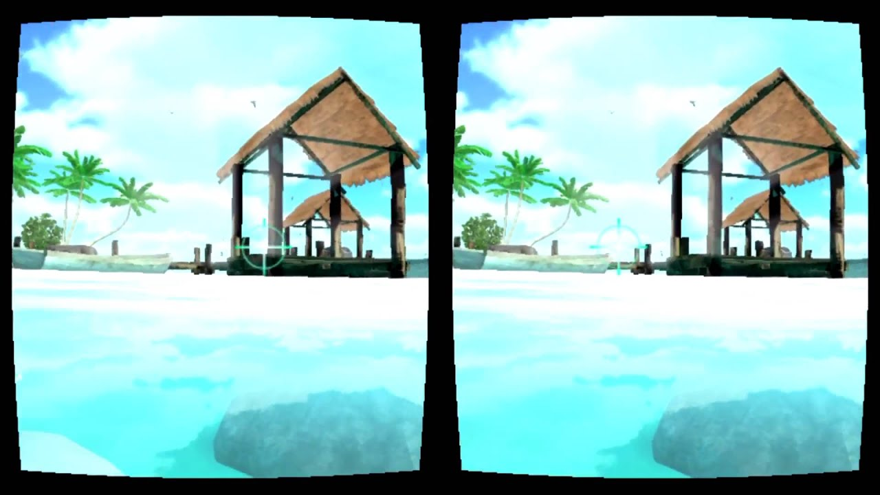 VR Dolphin VR Google Cardboard Virtual Reality 3D Gameplay 1080p